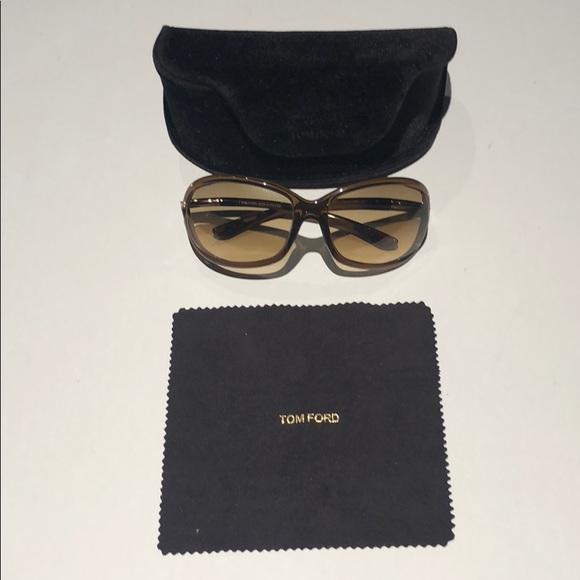 2e1d557b732 Tom Ford TF 8 Jennifer brown woman s sunglasses. M 5b6bd093de6f62ccba993b3a
